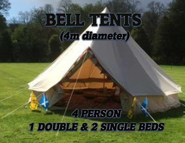 Bell Tents Double and singles image