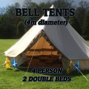 Bell Tents - 2 Double Beds Image