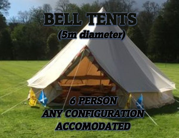 Bell Tents - 6 people Image
